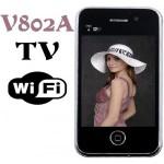 V802A עברית מושלמת – מידי אייפון WIFI TV