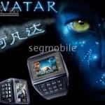 ET-1 AVATAR phone עברית שעון טלפון סיני