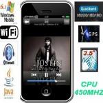 חיקוי אייפון 4G דור-4 סיני GPS WIFI TV עברית