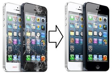 מרענן תיקון מסך לאייפון 5 - החלפת זכוכית טאצ - הזול במדינה AV-81