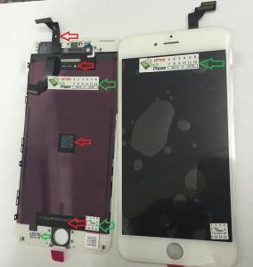 מסך מקורי לאייפון 6 פלוס